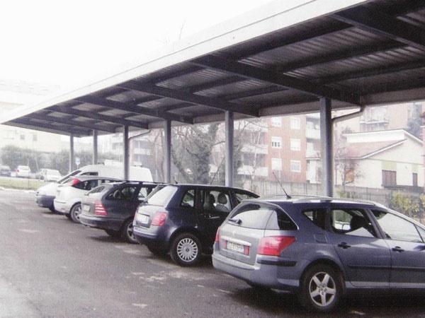 CLS Carpenteria  Tettoie per auto  Bergamo