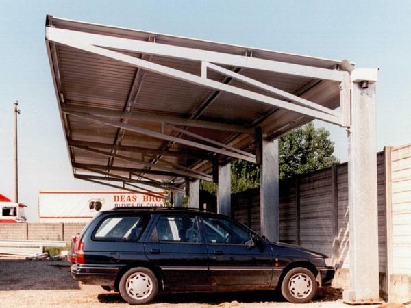 Cls carpenteria tettoie per auto bergamo for Tettoie per auto ticino